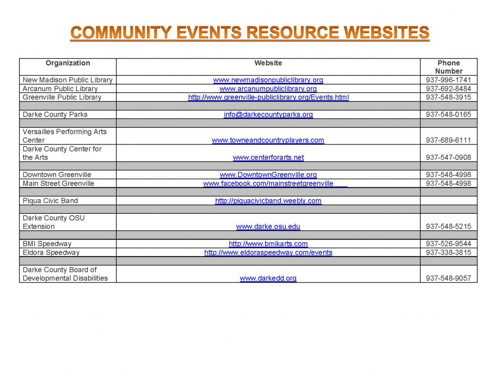 Community Calendar Whats Happening 5.25.18 Page 9