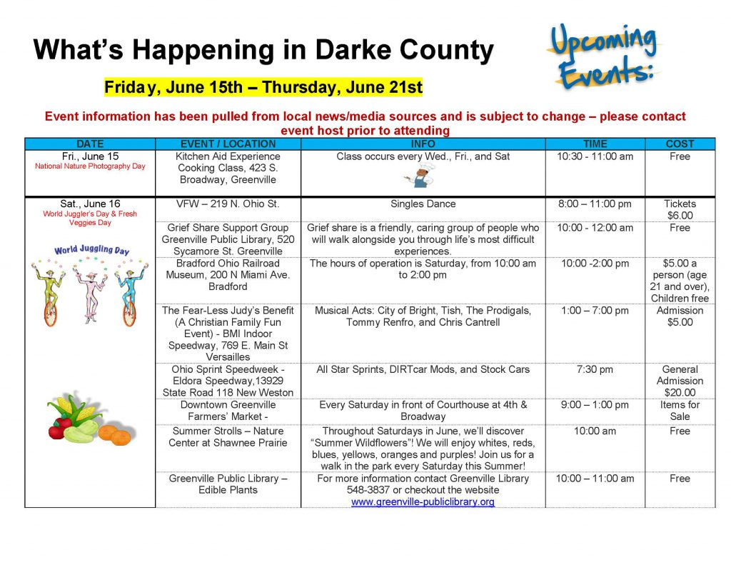 Community Calendar Whats Happening 6.8.18 Page 06