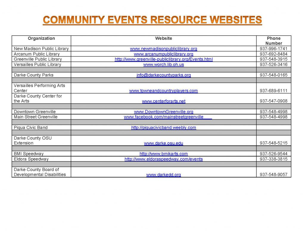 Community Calendar Whats Happening 7.13.18 Page 4