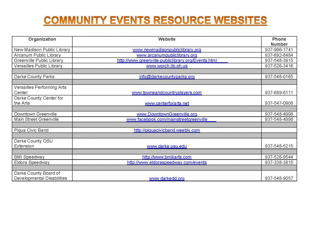 Community Calendar Whats Happening 8.17.18 Page 6