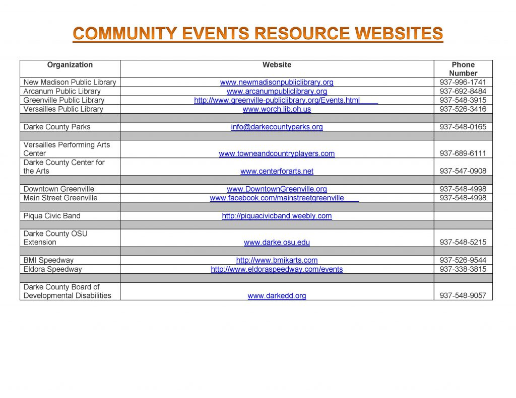 Community Calendar Whats Happening 10.12.18 Page 9