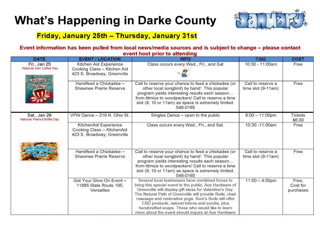 Community Calendar Whats Happening 1.18.19  Page 5